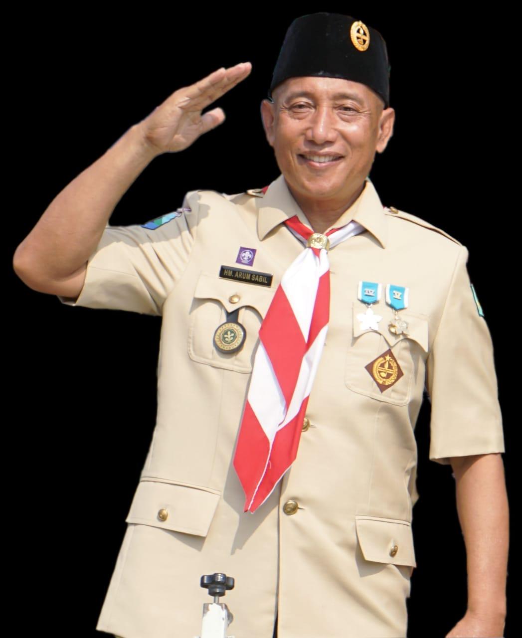 Ketua Kwarda Gerakan Pramuka Jawa Timur, HM Arum Sabil