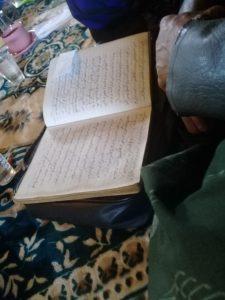 Pembacaan Sakola Macapat yang digelar oleh Lesbumi dan ISNU