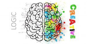 Caption foto: Ilustrasi otak kiri dan otak kanan./Pixabay
