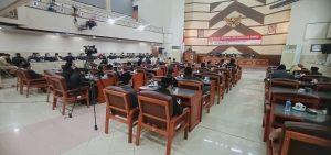 Rapat Paripurna DPRD Jember Untuk Penetapan Perda APBD 2021_Foto Istimewa Humas Setwan DPRD Jember (2)