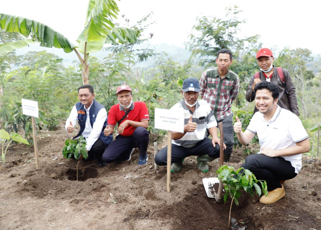 Dukung Industri Kopi Jatim, Wagub Emil Dorong Milenial Re-branding Profesi Petani Jember, 3 Oktober 2021